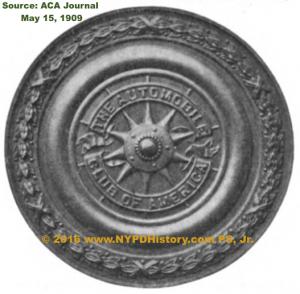 19090515 ACA Journal - MEDAL PHOTO Thomas FJ O'Grady Awarded 19090508 ©