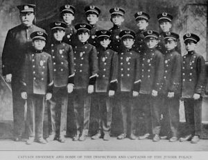 From the 1916 Annual Report PDNY - 15th Precinct JPF & Capt. Sweeney Photo