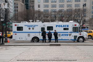 NYPD Command Post