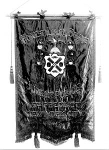 The Banner of the 15th Pct. JPF
