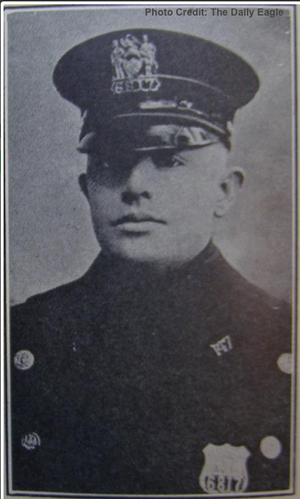 Patrolman William E. Sheridan, Shield 6817
