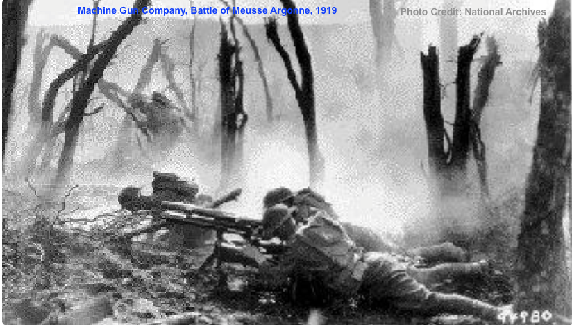 1919 - Battle of Meusse Argonne, France