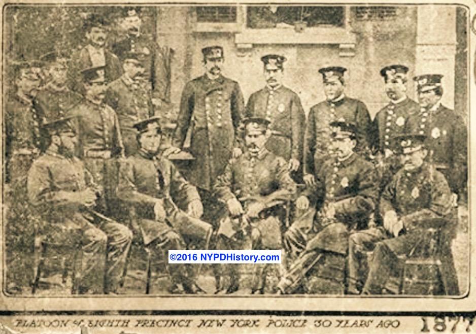 1877 Sixth Precinct, NY Police, Platoon 1