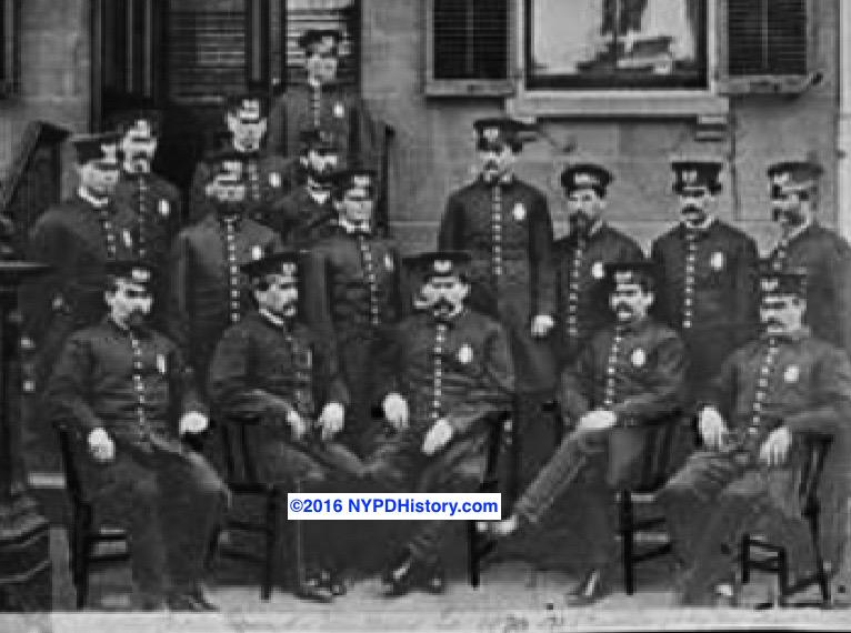 1877 Sixth Precinct, NY Police, Platoon 2