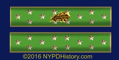 Medal for Valor Citation Bar of the New York City Police Dept.